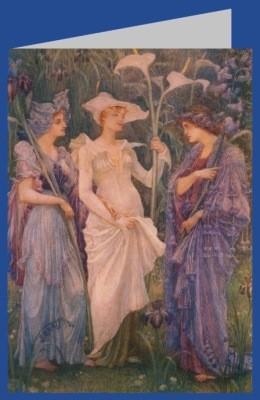 Walter Crane. Zeichen des Frühlings, 1894