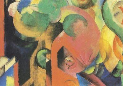 Franz Marc. Kleine Komposition III