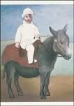 Picasso, P. Paolo auf dem Esel. KK