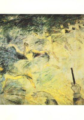 Edgar Degas. Ballett, Toulouse-Lautrec