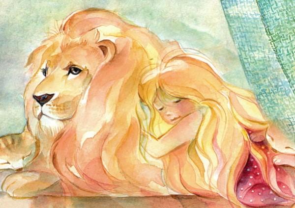Marie Laure Viriot. Oh, mein geliebter Löwe