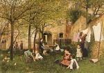 Sperl, J. Kindergarten, um 1882/83. KK