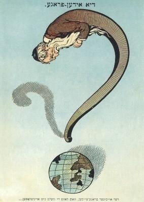 Die Judenfrage, ca. 1900