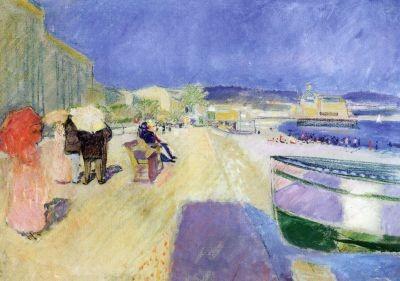 Edvard Munch. Promenade des Anglais, 1891