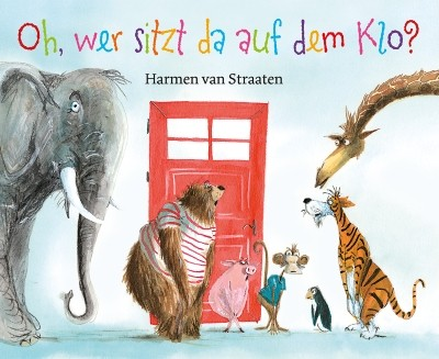 Harmen van Straaten. Oh, wer sitzt da auf dem Klo?