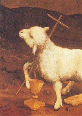 Matthias Grünewald. Isenheimer Altar (Lamm)