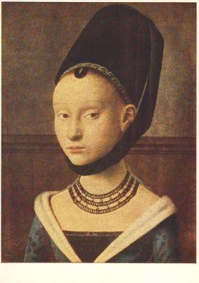 Petrus Cristus. Junges Mädchen, 15. Jh.