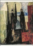 Lyonel Feininger. Marienkirche in Pfeil, 1930. KK