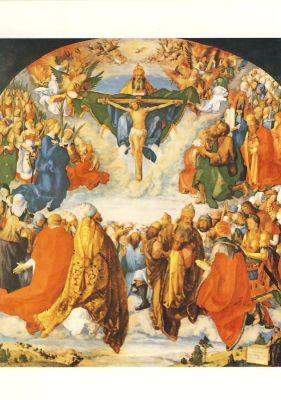Albrecht Dürer. Das Allerheiligenbild, 1511. KK