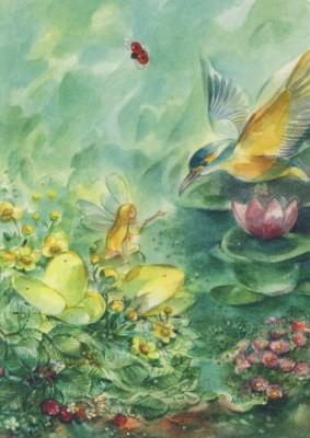 Marie-Laure Viriot. Eisvogel-Elf
