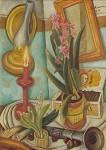 Max Beckmann. Stilleben mit brennender Kerze, 1921. KK