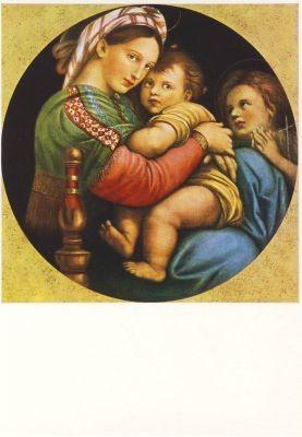 Raffael. Madonna della Sedia