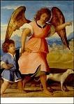 Vecchio, P. Tobias und der Engel. KK