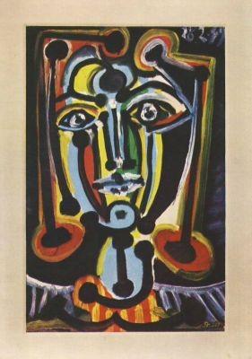 Picasso, P. Frauenbildnis. KK