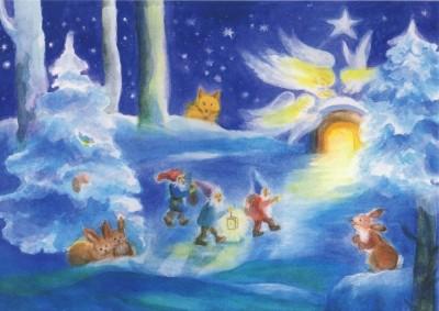 Dorothea Schmidt. Weihnachten mit den Zwergen