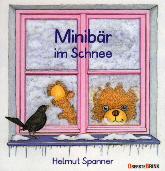 Helmut Spanner. Minibär im Schnee