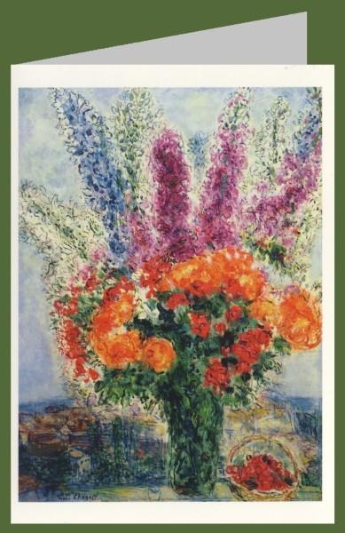 Marc Chagall. Veilchenstrauss.