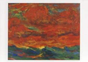 Emil Nolde. Himmel und Meer, 1930