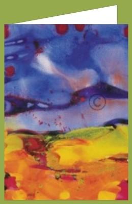 Gerhard Richter. Wasserfarben auf Papier. DK