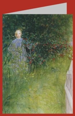 Larsson, Carl. Mädchen im Dornenbusch