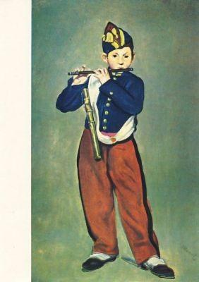 Der Pfeifer, Manet