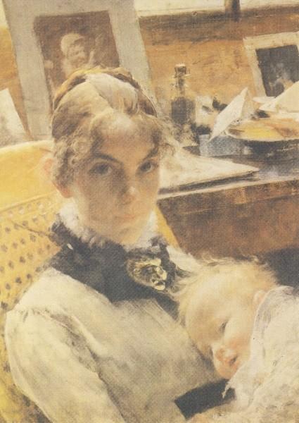 Carl Larsson. Atelier-Idyll, 1885