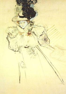 Henri de Toulouse-Lautrec. La Revue Blanche, 1895
