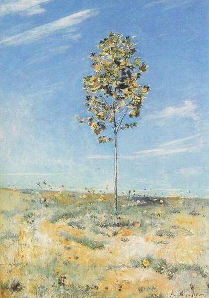Holder, Ferdinand. Die kleine Platane, 1890. KK
