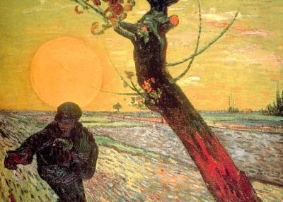 Vincent van Gogh. Sämann