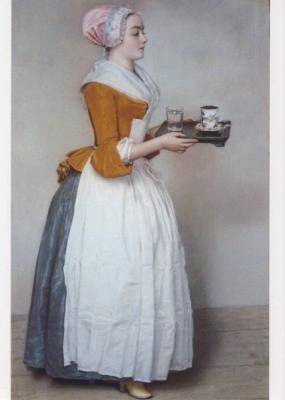 Liotard, J.E. Das Schokoladenmädchen.