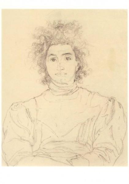 Giacometti, Giovanni. Bildnis Annetta, ca. 1901. KK