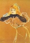 Henri de Toulouse-Lautrec. Yvette Guilbert singt, 1894. KK
