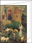 Hans Memling. Verkündung an Maria und die Hirten. DK