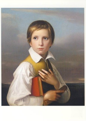 Schadow, F.W. Portrait des Felix Schadow, ca. 1830. KK