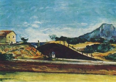 Bahndurchstich, Cezanne