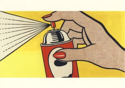 Roy Lichtenstein. Spray, 1962