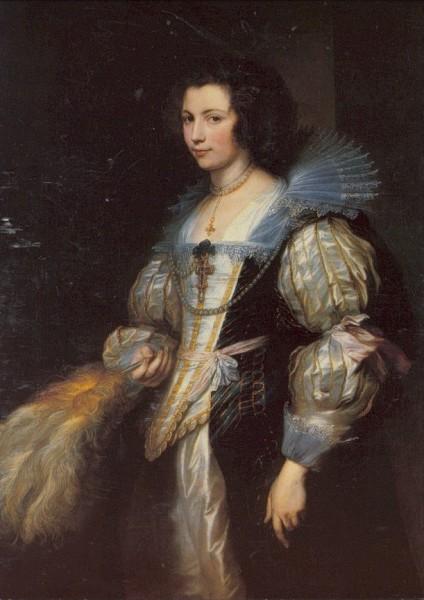 Anthonis van Dyck. Maria-Loisa de Tassis, 1630-32. KK