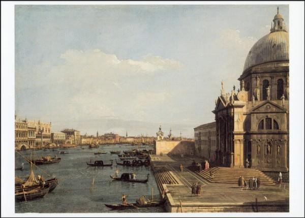 Antonio Canal. (Canaletto). Santa Maria/Salute/Riva
