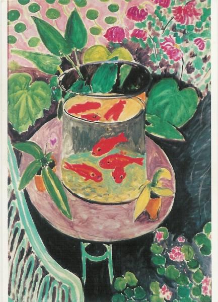 Henri Matisse. Rote Fische. KK