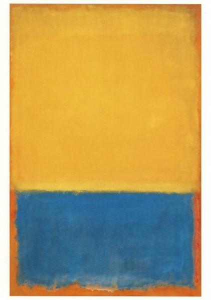 Rothko, M. Gelb und Blau, 1955. KK