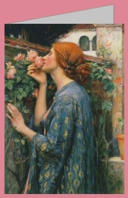 John William Waterhouse. Die Seele der Rose, 1908