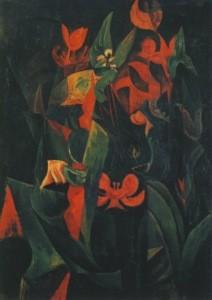 Max Ernst. Vegetation, 1916