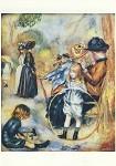 Piere-Auguste Renoir. Im Luxemburgischen Garten, 1883