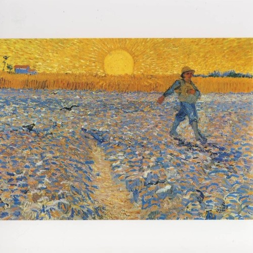 Gogh, V. Der Säher auf dem Feld. KK