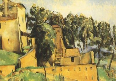 Paul Cézanne. La Maison de Bellevue