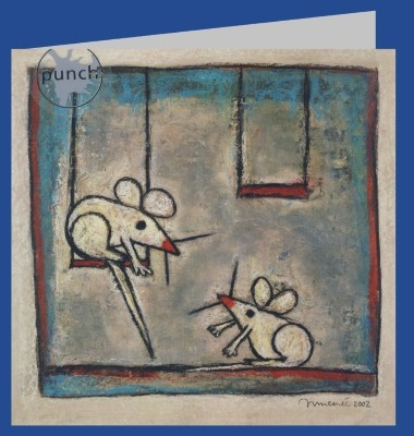 Innemée. Me and you, you and me..., 2002. 16x16-DK