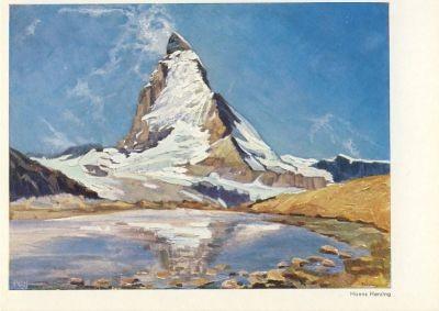 Hanns Herzing. Das Matterhorn