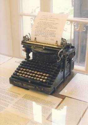 Hermann Hesse. Schreibmaschine von Hermann Hesse