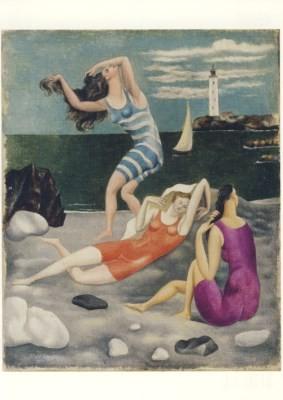 Pablo Picasso. Die drei Badenden, Biarritz, 1918