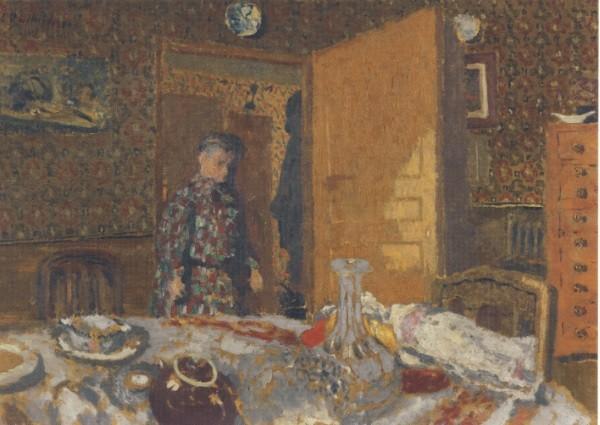 Edouard Vuillard. Frühstückstisch, 1900